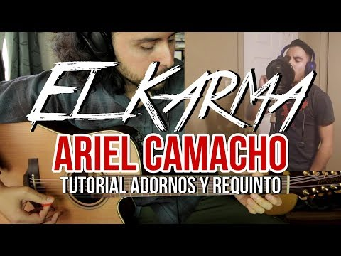 El Karma - Ariel Camacho y Los Plebes del Rancho - Tutorial - ADORNOS - REQUINTO - Guitarra