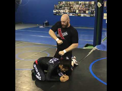 Catch Wrestling Rolling Double Wrist Lock vs. Turtle/Defense Position: Snake Pit U.S.A.
