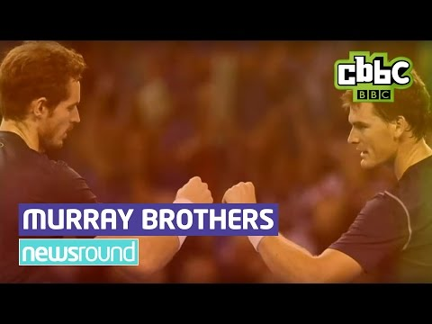 Andy Murray And Brother Jamie Interview Before Davis Cup Final - CBBC Newsround