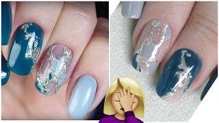 Пробую повторить дизайн ногтей от Masha Create