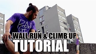 Parkour tutorial - Wall Run e Climb Up (ITA)