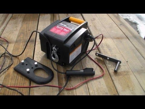 Master Lock 2953AT 12-Volt DC Portable Winch