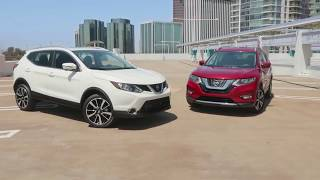 2017 Nissan Rogue vs. Rogue Sport Comparison - Central Houston Nissan