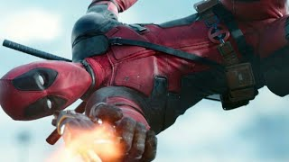 DEADPOOL (2016) HOLE IN THE HAND AND SHOOTING BULLETS SCENE (ULTRA HD)