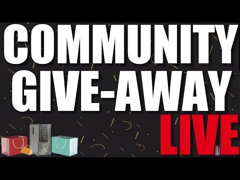 LIVE VLOG - New build wrap up, PC give away, your Q&A and more!