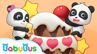 Bagaimana Membuat Kue Yang Lezat? | Lagu Pekerjaan Anak | Lagu Anak-anak | BabyBus Bahasa Indonesia