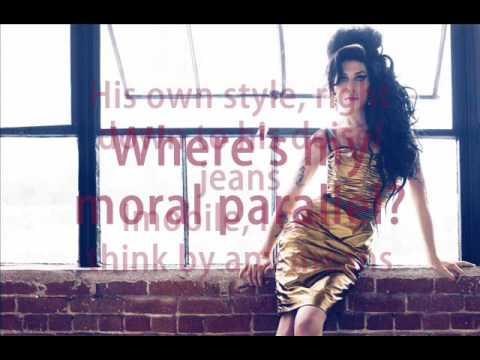 Amy Winehouse - Amy Amy Amy (lyrics)