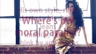 Amy Winehouse - Amy Amy Amy (lyrics)