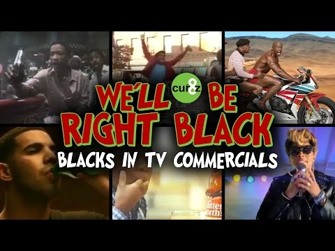 We'll Be Right Black - Supercut of Blacks in TV Ads