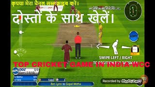 Top 10 Android Games Same as PC Games, cricket live match app online,  PART 2, wcc cricket game