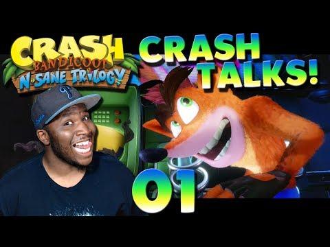 """""""YO, CRASH TALKS!"""" [Crash Bandicoot N-Sane Trilogy Gameplay #01] [#PKPlays...]"""