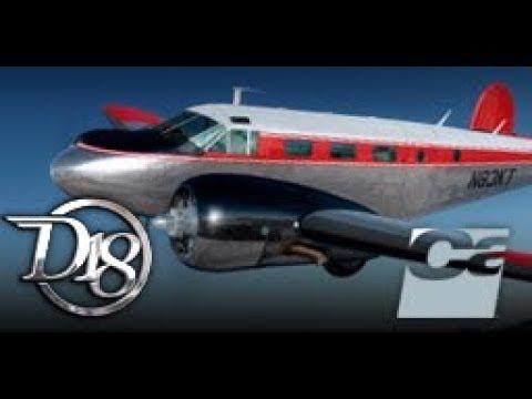 Beechcraft D18S Twin Beech, by Carenado  VFR: (KFHR-KPAE) Washington