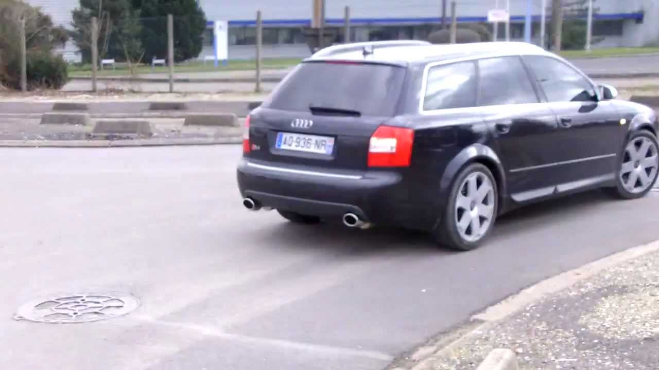 audi s4 avant b6 chappement inox pro inox youtube. Black Bedroom Furniture Sets. Home Design Ideas