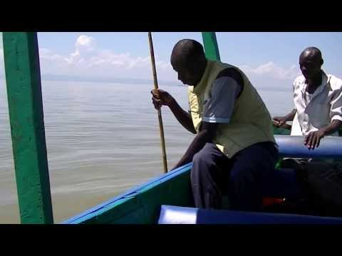 Kenya 2013 ; Lake Victoria ; trip with fisherman capture Nil bar