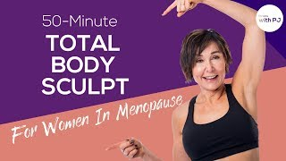 50-Min Total Body Sculpt 💪Fitness Programs for Women In Menopause