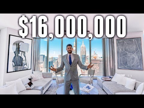 NYC Apartment Tour: $16 MILLION LUXURY APARTMENT