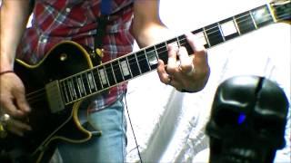 Hanoi RocksのMalibu Beach Nightmareを 勢いのみで弾いてみた。 何も考...