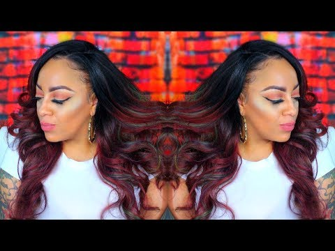 VIKING STATUS BOBBI BOSS MLF222 SYLVANNA 13X4 SWISS LACE FRONTAL  Synthetic Slay Series #10