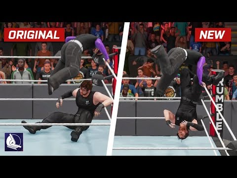WWE 2K18 Top 10 New Moves Variations (Animations) #6