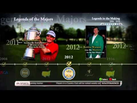 Tiger Woods PGA Tour 14 - Legends of the Majors - 0 - Tiger Woods PGA Tour 14 – Legends of the Majors