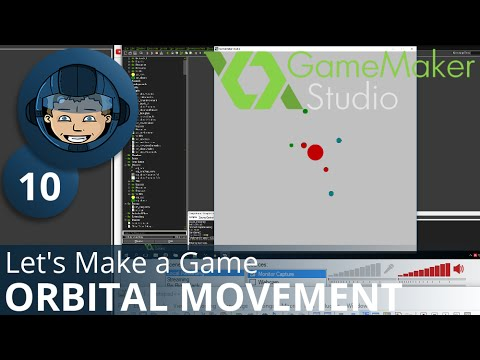 ORBITAL MOVEMENT - Let's Make A Game: Ep. #10 - Project Automation - Game Maker Tutorials