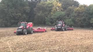 Pöttinger- Secí stroje Terrasem C8 a C9 v Rostěnicích