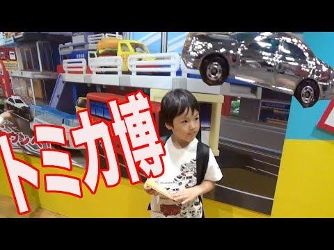 トミカ博 2019 in OSAKA大阪に行ってトミカをゲットピカピカの当たりも