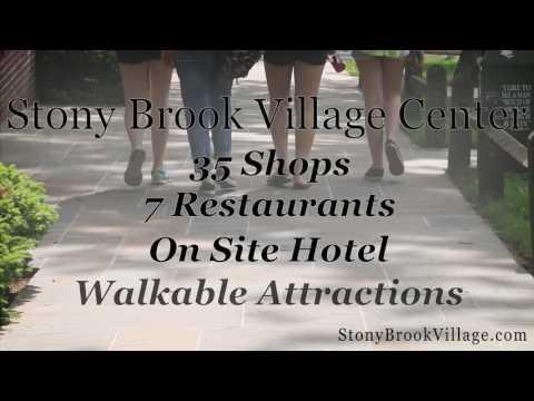 Long Island Getaway at Stony Brook Village