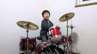 ムジカピッコリーノのぺぺさんに憧れてドラムを始めました!