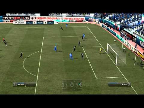 FIFA 12 - Italy vs Ireland UEFA EURO 2012