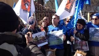 6 marzo 2015 - Flash Mob Animalisti a Villa Borghese 2