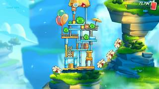 video game#Angry Birds 2/ kids game, cute game; game world for kids