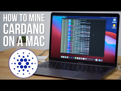 How To Mine Cardano / ADA Cryptocurrency On An M1 Or Intel Mac