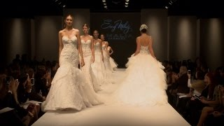 Eve of Milady Spring 2015 Bridal Collection Fashion Show NYC