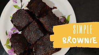 Simple Brownie / Siṁple way of Brownie Recipe