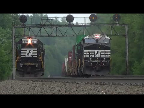 [HD] NS Pittsburgh Line in June, 2015 Part 1: Endless Action on the West Slope