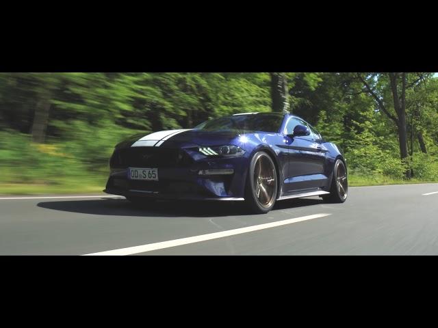 Ford Mustang KW V3 Gewindefahrwerk & Schmidt Twenty One 20 Zoll Felgen