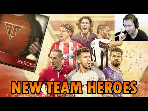 NEW TEAM HEROES | FiFa Mobile | FIRST EDITION TRADE-IN PACK OPENING