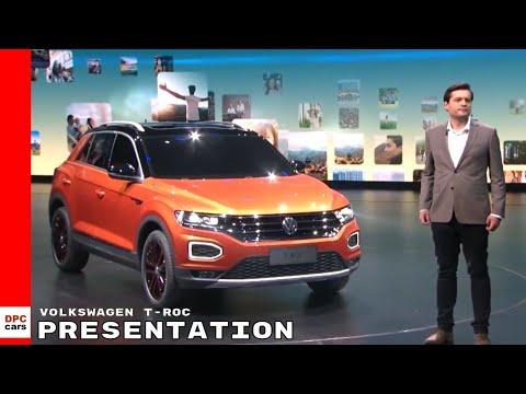 Volkswagen T-Roc Presentation - VW