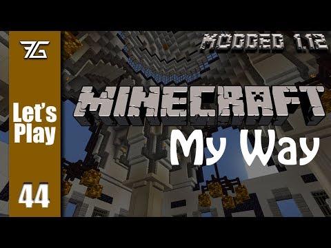 Minecraft : My Way - Ep 44 Auto Mining