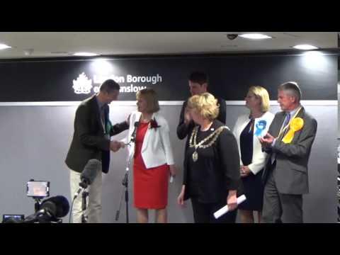 Brentford & Isleworth | General Election Declaration | Sky News