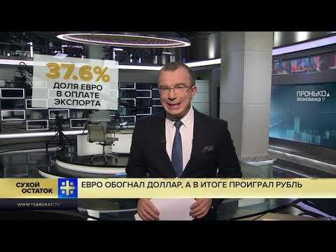 Юрий Пронько: Евро обогнал доллар, а в итоге проиграл рубль