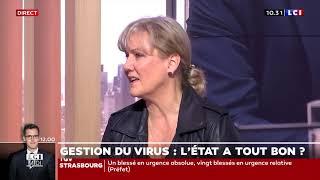 Nadine Morano sur la gestion du coronavirus par Emmanuel Macron