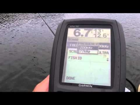 Garmin Echo 150 float tube fanatics review June 2012 from www.floattubefanatics.com