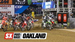 Supercross Post-Race: Oakland