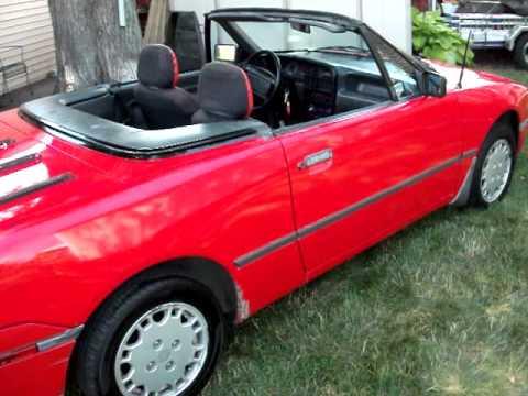 1991 Mercury Capri For
