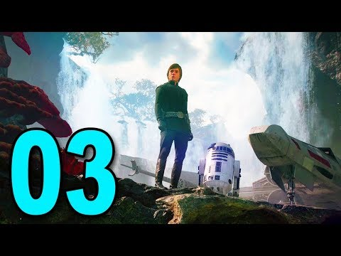 Star Wars Battlefront 2 Story - Part 3 - LUKE SKYWALKER
