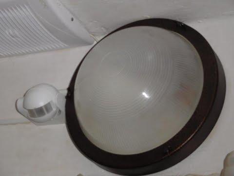 Датчик движения для ванной , два таймера , светодиодные лампы и вытяжка .