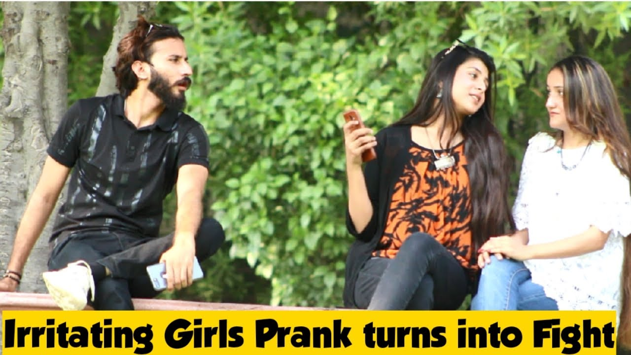 Irritating Girls Prank || Prank in Pakistan || Adil Anwar