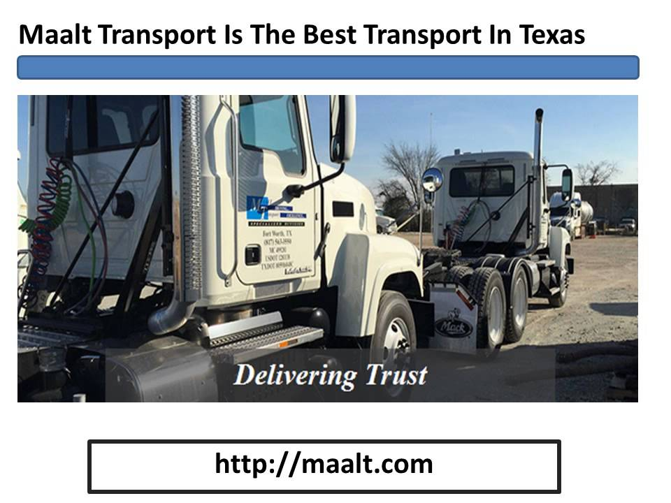 maalt transport driver pay